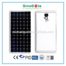 sinosola solar with TUV/IEC61215/IEC61730/CEC/CE/PID