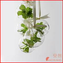 flower vase stand_different types glass vase_glass ball vase