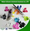 Desk Silicone cell Phone holder/New Silicone Phone card Holder/stand