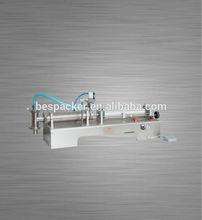 Table-top liquid coffee filling machine