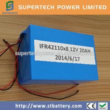 lifepo4 battery pack 12V 20Ah instead of SLA battery
