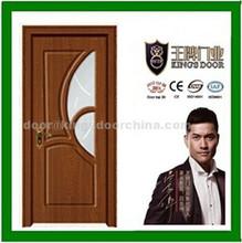 glass design bathroom wooden bathroom PVC door profile