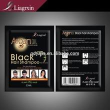 Argan oil Herbal OEM black hair shampoo promotation