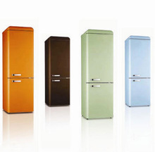 with CE/CB/ETL, colorful single door upright larder/freezer retro cube/retro refrigerator/retro fridge