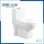 Lijie Bathroom Sanitary ware one-piece ceramic toilet bowl