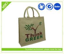 Jute/non woven shopping eco bag in China