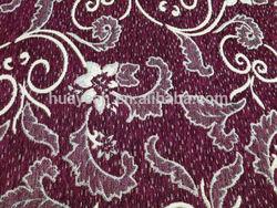 100%polyester chenille jacquard indian design sofa fabric