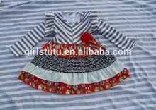 bulk wholesale cheap flower girl dress children fancy chevron dress remakes toddler kids girls winter dresses