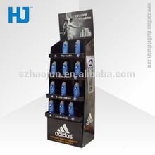 Cardboard countertop display promotional cardboard pallet display for brand shampoo