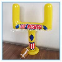 Mini football goal posts, giant pvc inflatable football goal post toy with inflatable rugby