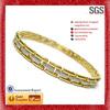 Ladies hand bracelet design strict quality control steel health bracelet ankle bracelet jewelry
