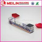 nail polish transparent box packaging