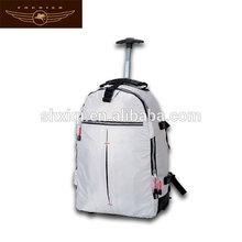 Rolling trolley backpack bag for school