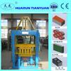 semi-automatic hydraulic brick forming machine QTY3-15 interlocking paving block machine