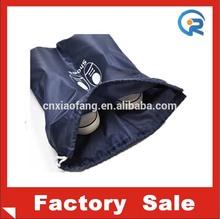 waterproof& customer logo 190T popular drawstring women backpack