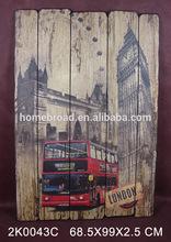 2014 Autumn Canton fair New Design Items For Antique Wooden Wall Arts
