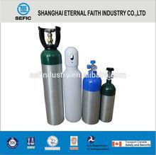2014/2015 Soft Drink Additive Aluminium High Pressure CO2 Gas Cylinder