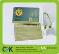 De diseño personalizado! De alta calidad clave anillo de plástico titular de la tarjeta! Libre de la muestra!