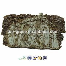 Resin table decoration christian baptism souvenirs