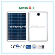 12V100W Poly Solar Panel TUV/CE/IEC/CEC Approval