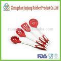 Calidad superior de utensilios de cocina de silicona herramientas de accesorios de cocina, utensilios de cocina conjunto de 5