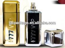 large capacity 212 Custom Made round shape magnet Perfume aluminum Bottles