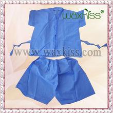 massage clothes disposable nonwoven sauna suit