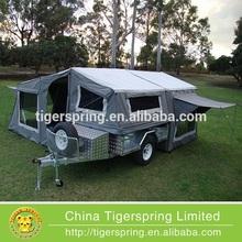 Professional leisure tent truck camper