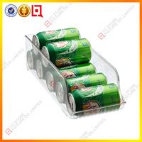 acrylic refrigerator beverage rack