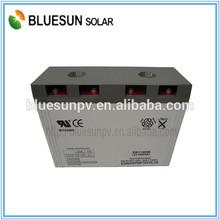 Bluesun cheap China factory shipping solar battery 12v 1000ah