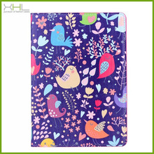 Best quality products animal family leather flip stand case cover for ipad 5 cases