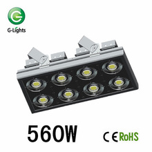 Various Angle Available CREE or Bridgelux High Quality Anti-dazzling Waterproof IP65 560W LED Tunnel Light