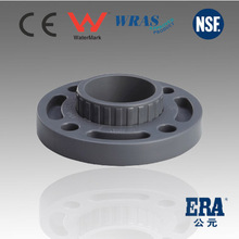 upvc van stone Flange with BS ANSI JIS DIN STANDARD for PVC pipe