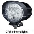 Atacado 10-30v 27w 9*3w diodo emissor de luz de trabalho, led trator trabalhando 27w, 12v/24v led off- road luz