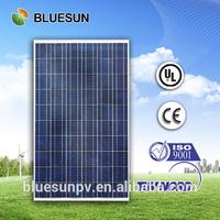 25year warranty BLUESUN best seller TUV CE UL certificate polycrystalline 250w flexible solar panel fr-68w
