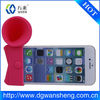 promotional silicone amplifier speaker for iphone 6