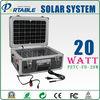 20W portable folding solar panel energy system