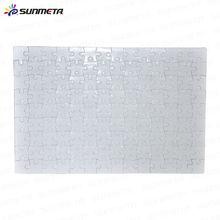 Direct Factory Hot Selling Custom Paper Sublimation Plain Printable Jigsaw Puzzle 126pcs