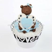 wholesale Wedding Favors filigree cupcake wrapper