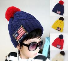 2014 Hot Sales Knitted Kids Cap Fashion Children Hat
