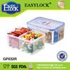 new 1200ml hot sale microwave plastic storage box wholesale
