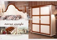 Professional supply children bedroom 4-doors wardrobe design