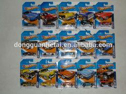 2014 Hot sale diecast car models Hw City Wheels/vehicle