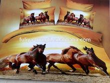 Queen Size Plain Style 4pcs 3d Animal Duvet Cover Set