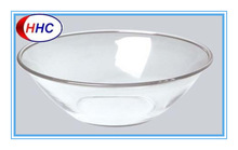5 ~ 10'' Tempered clear glass bowl