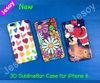 JESOY New 3D Sublimation For iPhone 6 plus/6 Case , For iPhone 6/6+ Sublimation case, For iPhone Cover