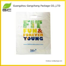 Personality own logo decorative plastic bag custom printing