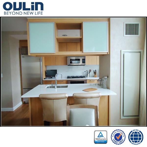 2014 cheap modern modular kitchen cabinet door designs for for Cheap kitchen cabinet door ideas