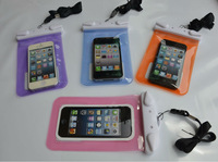 ABS+PVC Waterproof Underwater Pouch Dry Bag Pack Case Cover for iPhone