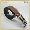 tt9053 duas cores de couro cintos de marcas